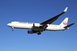 utarou on NRTさんが、成田国際空港で撮影した日本航空 767-346/ERの航空フォト(写真)
