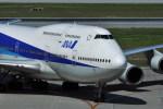 kumagorouさんが、那覇空港で撮影した全日空 747-481(D)の航空フォト(写真)
