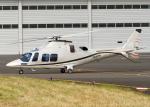 DEE JAYさんが、東京ヘリポートで撮影したノエビア AW109SP GrandNewの航空フォト(飛行機 写真・画像)