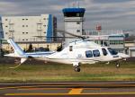 DEE JAYさんが、東京ヘリポートで撮影した日本デジタル研究所(JDL) AW109SPの航空フォト(飛行機 写真・画像)