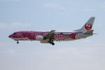 チャッピー・シミズさんが、那覇空港で撮影した日本トランスオーシャン航空 737-446の航空フォト(写真)