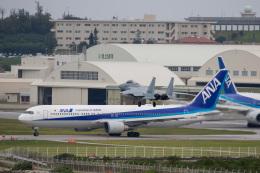 チャッピー・シミズさんが、那覇空港で撮影した全日空 767-381/ERの航空フォト(写真)
