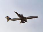 名無しの権兵衛さんが、羽田空港で撮影したルフトハンザドイツ航空 A340-642Xの航空フォト(写真)