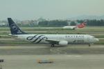 ぽっぽさんが、広州白雲国際空港で撮影した中国南方航空 737-81Bの航空フォト(写真)