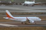 ATOMさんが、羽田空港で撮影したSKテレコム A319-115CJの航空フォト(写真)