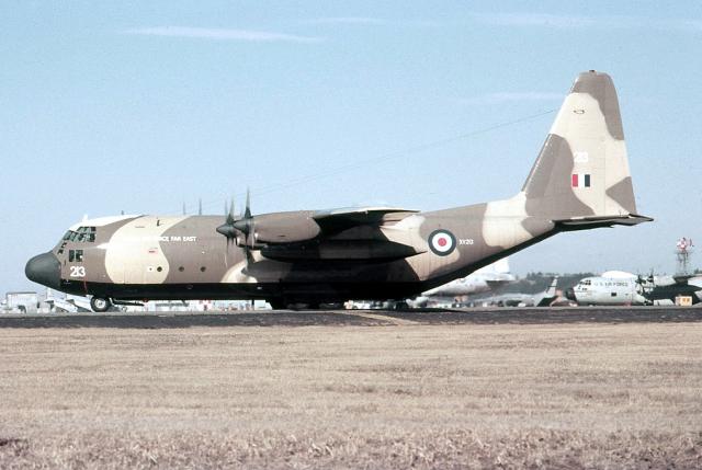 イギリス空軍 Lockheed C-130 He...