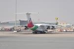 cornicheさんが、ドーハ・ハマド国際空港で撮影したPouya Air Il-76TDの航空フォト(飛行機 写真・画像)