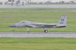 Orange linerさんが、嘉手納飛行場で撮影したアメリカ空軍 F-15C-35-MC Eagleの航空フォト(写真)