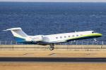 yabyanさんが、中部国際空港で撮影したユタ銀行 G500/G550 (G-V)の航空フォト(写真)