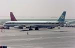 ノビタ君さんが、羽田空港で撮影したエア・サイアム DC-8-63CFの航空フォト(写真)