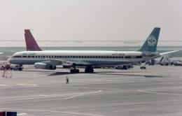 ノビタ君さんが、羽田空港で撮影したエア・サイアム DC-8-63CFの航空フォト(飛行機 写真・画像)