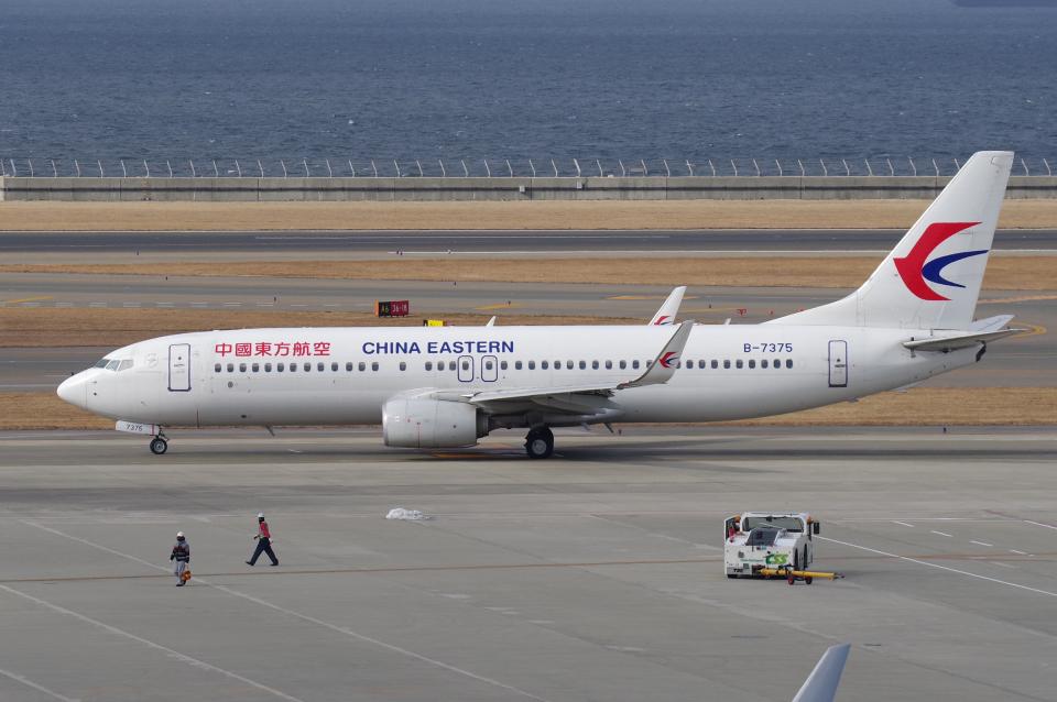 yabyanさんの中国東方航空 Boeing 737-800 (B-7375) 航空フォト