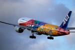 mktさんが、伊丹空港で撮影した全日空 777-281/ERの航空フォト(写真)