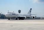 cornicheさんが、アタテュルク国際空港で撮影したイラン航空 747-286BMの航空フォト(飛行機 写真・画像)