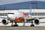 よりさんが、伊丹空港で撮影した全日空 777-281/ERの航空フォト(写真)