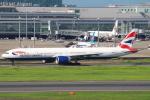 セブンさんが、羽田空港で撮影したブリティッシュ・エアウェイズ 777-336/ERの航空フォト(飛行機 写真・画像)