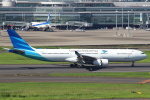 セブンさんが、羽田空港で撮影したガルーダ・インドネシア航空 A330-343Xの航空フォト(飛行機 写真・画像)