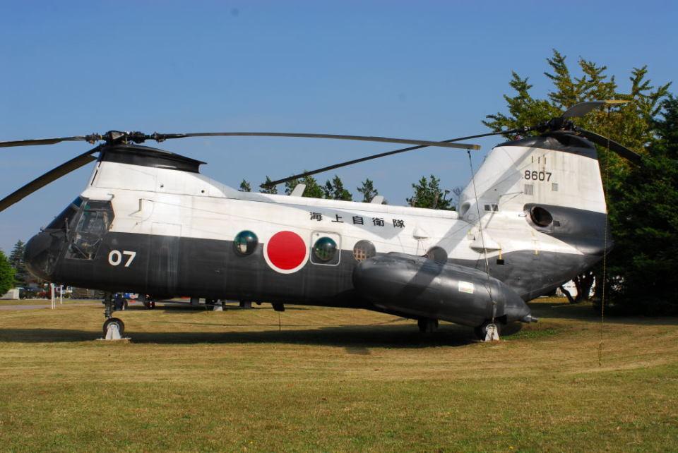 banshee02さんの海上自衛隊 Kawasaki V-107 (8607) 航空フォト