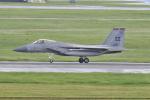 Orange linerさんが、嘉手納飛行場で撮影したアメリカ空軍 F-15C-40-MC Eagleの航空フォト(写真)