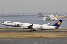 ☆ライダーさんが、羽田空港で撮影したルフトハンザドイツ航空 A340-642の航空フォト(飛行機 写真・画像)