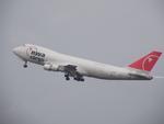 アイスコーヒーさんが、成田国際空港で撮影したノースウエスト航空 747-212F/SCDの航空フォト(飛行機 写真・画像)