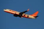 twining07さんが、成田国際空港で撮影したチェジュ航空 737-8ASの航空フォト(写真)