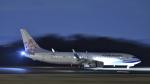 けんじさんが、岡山空港で撮影したチャイナエアライン 737-809の航空フォト(写真)