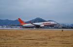 FRTさんが、松山空港で撮影したチェジュ航空 737-8ASの航空フォト(飛行機 写真・画像)