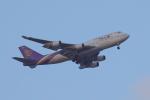 じゃりんこさんが、中部国際空港で撮影したタイ国際航空 747-4D7の航空フォト(写真)