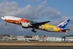 イーヌイさんが、伊丹空港で撮影した全日空 777-281/ERの航空フォト(写真)