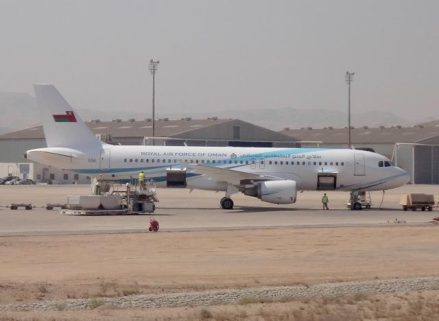 オマーン空軍 Airbus A320-200 5...