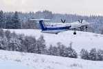 rail_airlineさんが、青森空港で撮影したANAウイングス DHC-8-402Q Dash 8の航空フォト(写真)
