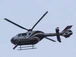 丸めがねさんが、羽田空港で撮影した読売新聞 EC135P2の航空フォト(写真)