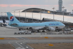 LEGACY-747さんが、関西国際空港で撮影した大韓航空 747-4B5の航空フォト(飛行機 写真・画像)