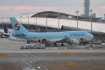 LEGACY-747さんが、関西国際空港で撮影した大韓航空 747-4B5の航空フォト(写真)