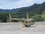 ランチパッドさんが、静岡ヘリポートで撮影した賛栄商事 R66の航空フォト(写真)