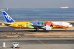 さくらの城南山。さんが、羽田空港で撮影した全日空 777-281/ERの航空フォト(写真)