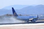 梅こぶ茶さんが、広島空港で撮影したユナイテッド航空 737-724の航空フォト(写真)