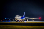 カヤノユウイチさんが、米子空港で撮影した全日空 747-481の航空フォト(写真)