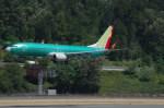 トシさんさんが、ボーイングフィールドで撮影したボーイング 737-89Pの航空フォト(写真)