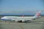 キャッチャーさんが、中部国際空港で撮影したチャイナエアライン 747-409の航空フォト(飛行機 写真・画像)