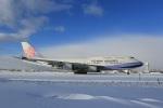 VIPERさんが、新千歳空港で撮影したチャイナエアライン 747-409の航空フォト(写真)