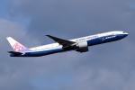 sepia2016さんが、成田国際空港で撮影したチャイナエアライン 777-309/ERの航空フォト(写真)