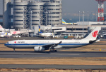 mojioさんが、羽田空港で撮影した中国国際航空 A330-343Xの航空フォト(飛行機 写真・画像)