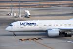 mojioさんが、羽田空港で撮影したルフトハンザドイツ航空 A350-941XWBの航空フォト(写真)