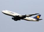 voyagerさんが、羽田空港で撮影したルフトハンザドイツ航空 747-830の航空フォト(写真)