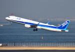 mojioさんが、羽田空港で撮影した全日空 A321-211の航空フォト(飛行機 写真・画像)