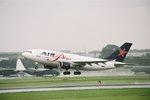 立山一郎さんが、名古屋飛行場で撮影したエア・プラス・コメット A310-324/ETの航空フォト(写真)