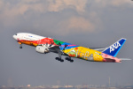 mojioさんが、羽田空港で撮影した全日空 777-281/ERの航空フォト(飛行機 写真・画像)