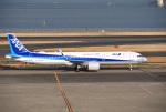 mojioさんが、羽田空港で撮影した全日空 A321-272Nの航空フォト(写真)